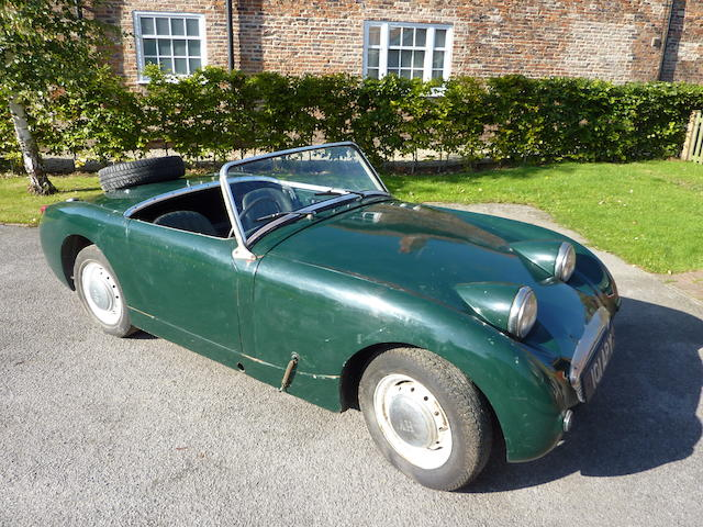 1961 Austin Healey 948cc 'Frogeye' Sprite  Chassis no. 5/47846       Engine no. 9C-U-H47754