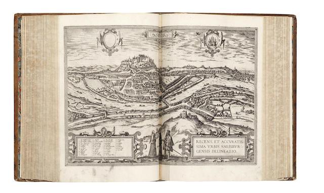 BRAUN (GEORG) and FRANZ HOGENBERG Civitates orbis terrarum, vol. 1-5 (of 6)