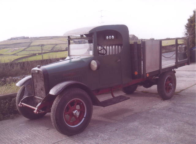 1927 International SF24 1½-ton Flat-bed Truck  Chassis no. 31356 Engine no. 4300