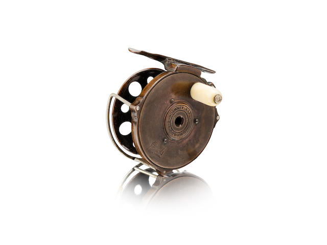 A Hardy Original 'Perfect' 612 Patent fly reel 1891 model