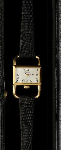 Kutchinsky: An 18ct gold lady's wristwatch