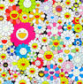 Takashi Murakami (Japanese, born 1962) A Collection Ten screenprints in colours, including: Flowers, Flowers Flowers; Open your hands wide, Embrace Happiness!; Field of smiling Flowers; Flowers in Heaven; If I could reach that Field of Flowers, I would die happy; Maiden in the yellow Straw Hat; Such cute Flowers; Flower Smile; Poporoke Forest; Open your hands wide; each on wove, each signed and numbered variously from the edition of 300, published by Kaikai Kiki, Tokyo, with full margins, various sizes (unframed) (10)