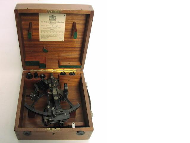 A 6.5in.(16.5cm) radius micrometer sextant,