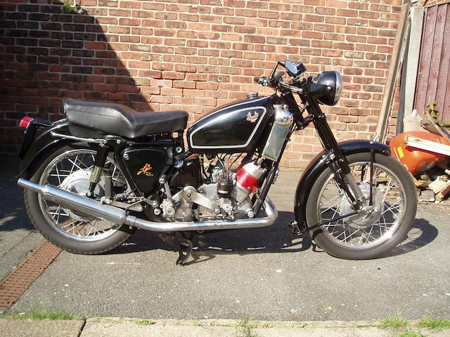 1957 Scott 596cc Flying Squirrel Frame no. S1051 Engine no. DPY5436