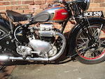 Property of a deceased's estate,1939 Ariel 601cc Model 4F 'Square Four' Frame no. AX476 Engine no. EE469