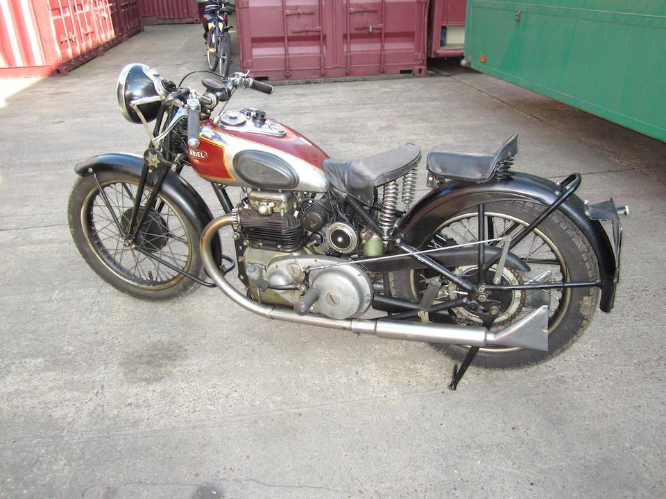 1936 Ariel 601cc Model 4F 'Square Four' Frame no. 5978 Engine no. WA188