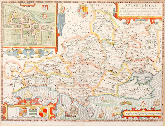 DORSET [SPEED (JOHN)] Dorsetshyre, 1662