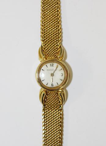 Jaeger Le Coultre: A lady's wristwatch