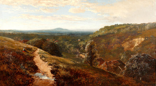 Edmund John Niemann (British, 1813-1876) Erridge Hill, Tunbridge Wells