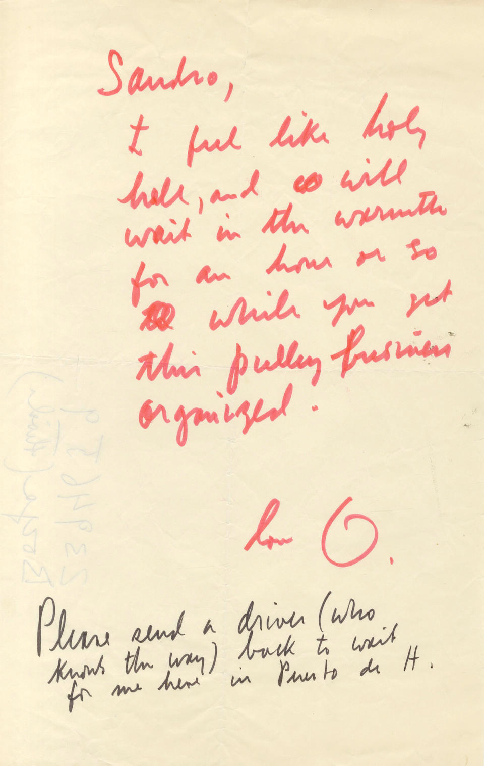 WELLES (ORSON) Archive