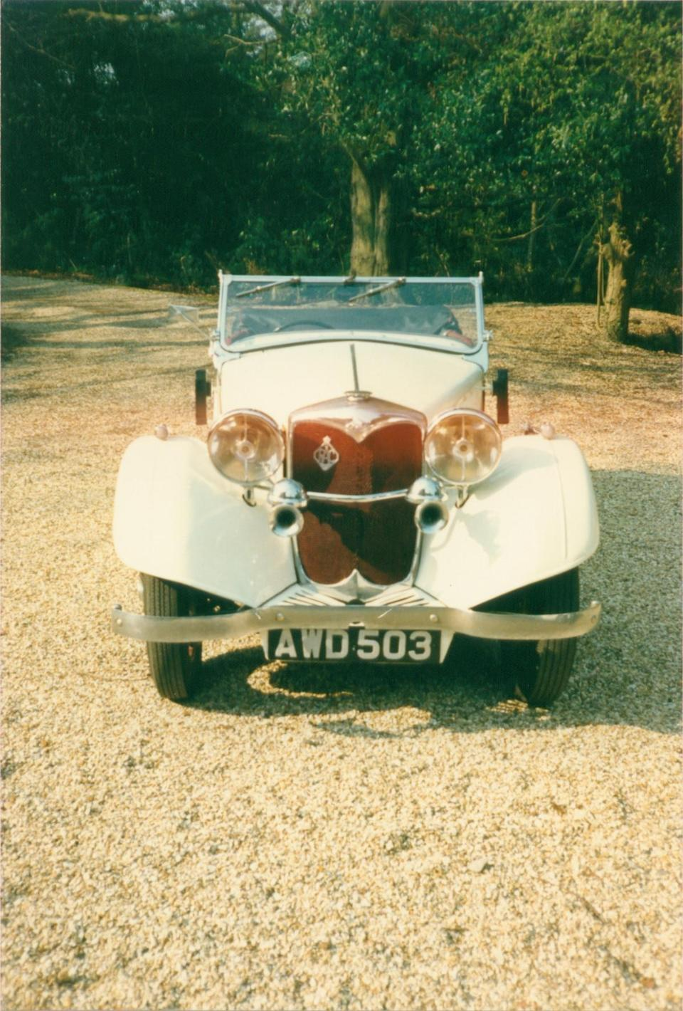 1936 Riley Lynx 12/4 4-Seater Sports-Tourer  Chassis no. 26L 4909