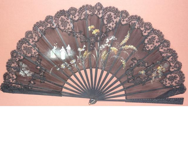 A 19th century French fan