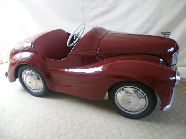 An Austin J40 pedal car, chassis number 29775,