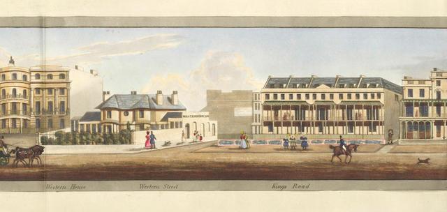 BRIGHTON - PANORAMA [MASON (W.H.) Brighton], 1833