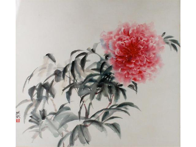 Fei Chengwu (Chinese, born 1914) 47 x 52cm.