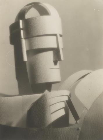 François Kollar (French, 1904-1979) Papier découpé by Paul Iribe for Draeger, 1928