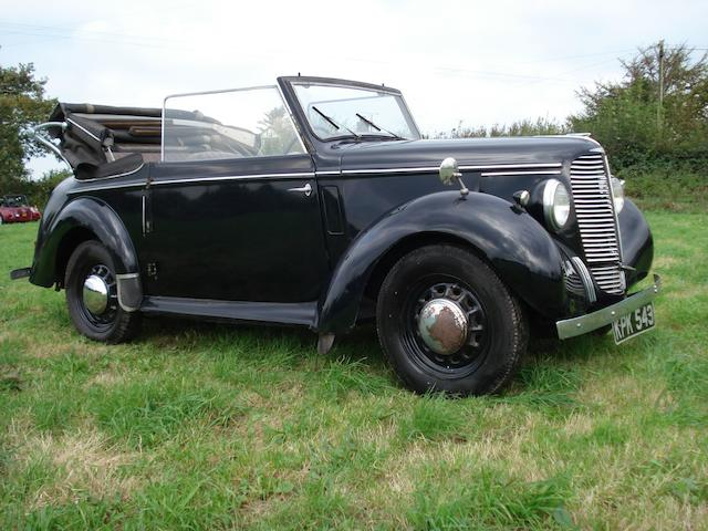 1946 Hillman Minx Drophead Coupé  Chassis no. 1760495 Engine no. 1760495