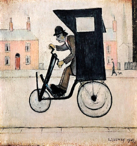 Laurence Stephen Lowry R.A. (British, 1887-1976) 'The Contraption'