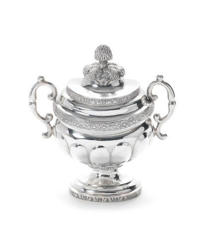 American sugar vase