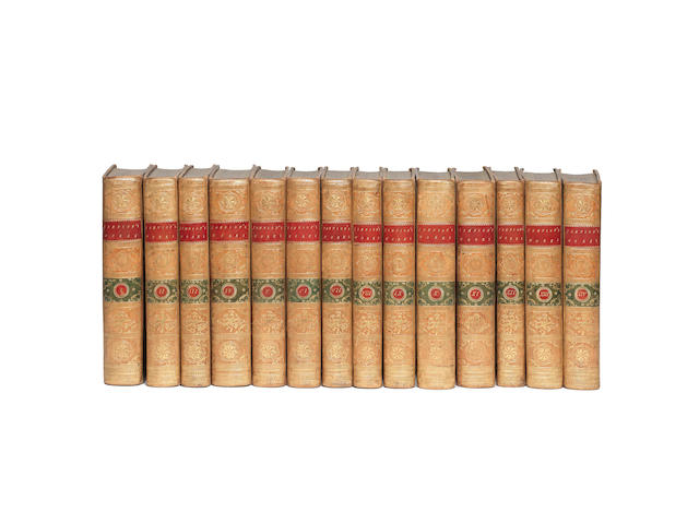JOHNSON (SAMUEL) The Works... together with his Life... by Sir John Hawkins, 14 vol., A FINE SET OF THE FIRST COLLECTED EDITION, 1787-1788