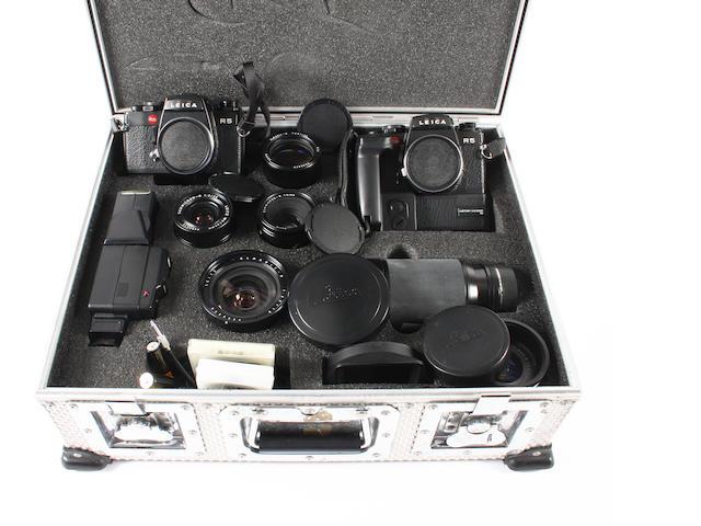 Leica R5 camera outfit