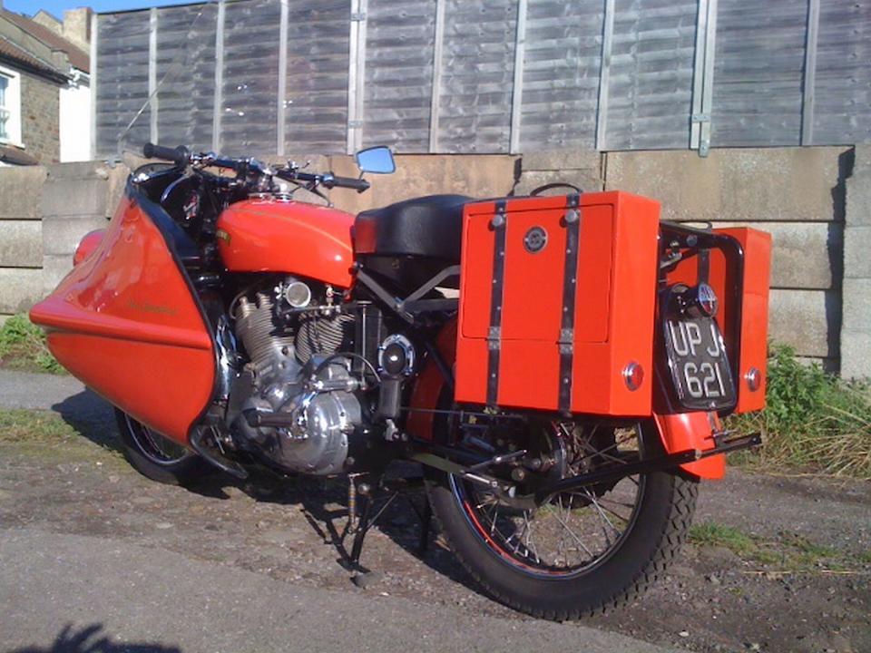 1951 Vincent 998cc Series-C Rapide Frame no. RC10599 Engine no. 10/AB/1/8699