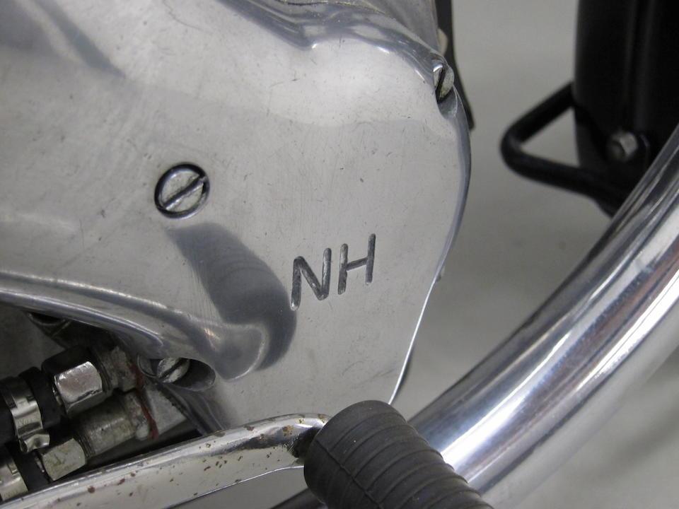 1946 Ariel 347cc Red Hunter Frame no. BP 5597 Engine no. BK 4145