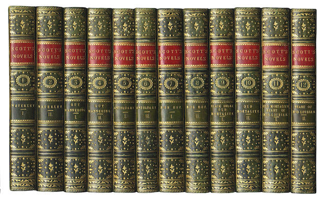 SCOTT (WALTER) Waverley Novels, 48 vol., 1830