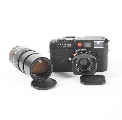 Leica M6 TTL camera and lenses