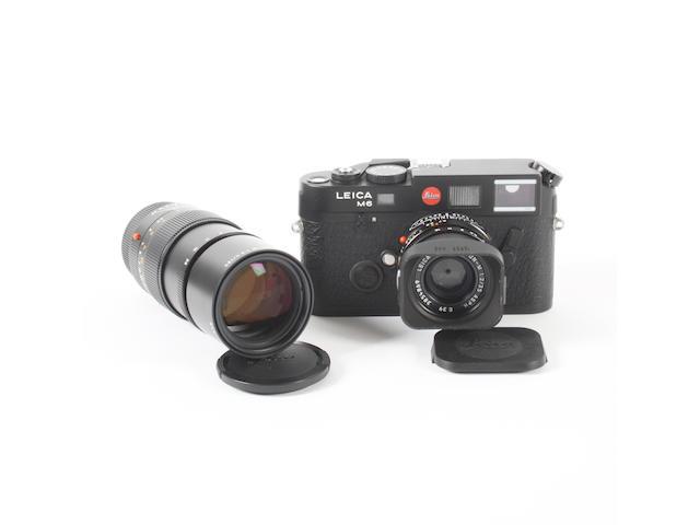 Leica M6 TTL camera and lenses