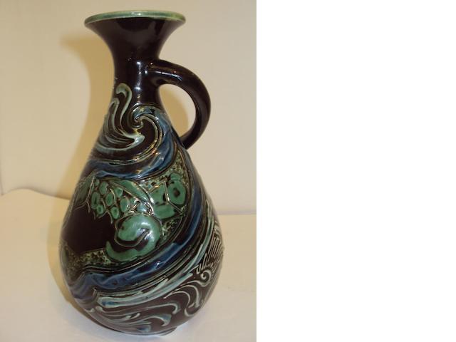 A Brannam vase