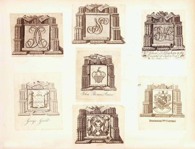 BOOKPLATES Album of armorial bookplates