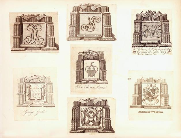 BOOKPLATES Album of armorial bookplates
