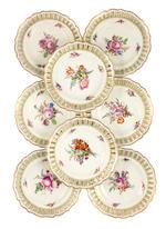 A rare Marcolini Meissen table service