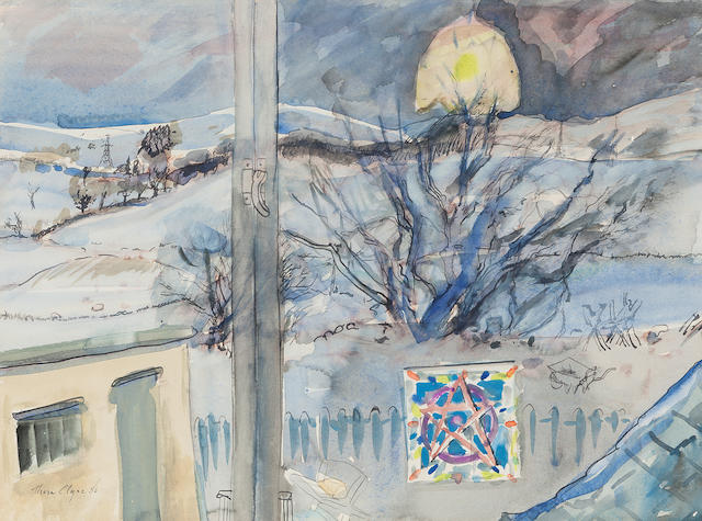 Thora Clyne (British, born 1937) 'Winter Reverie'