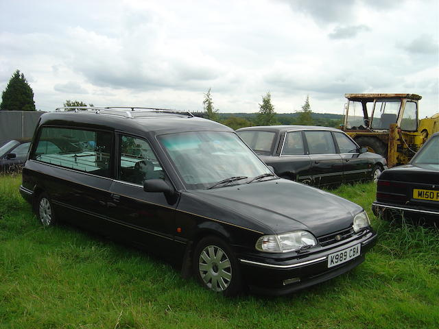 1993 Ford Granada/Scorpio Cardinal Hearse  Chassis no. 57504 Engine no. NK57504