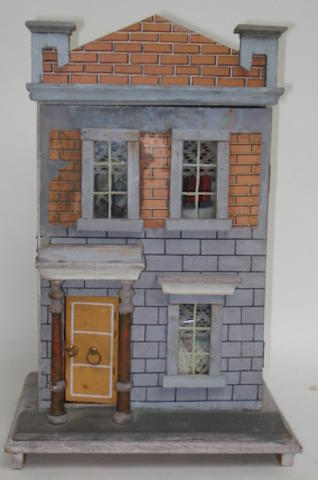 Small Moritz Gottschalk dolls house