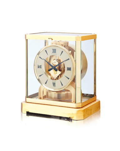 A 20th century Atmos clock Jaeger Le Coultre, caliber 528-8, serial number 439245