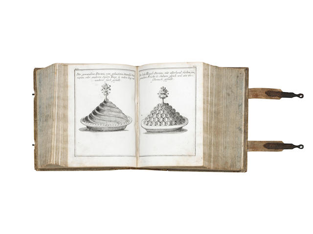 COOKERY HAGGER (CONRAD) Neues Saltzburgisches Koch-Buch, 6 parts in one vol.