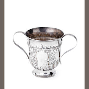 A George III silver two-handled cup, by John Denwall, London 1772,
