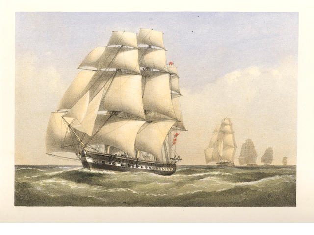 NAVAL COOKE (EDWARD WILLIAM) Fifty Plates of Shipping and Craft, 1829; and another (2)