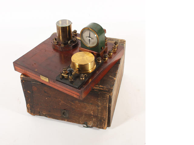 A telegraph transmitter apparatus,