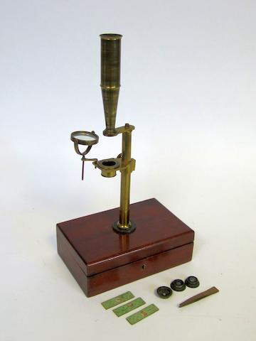 A Robert Field & Son Gould-type compound microscope