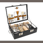 A four-person picnic set, by Barratt & Sons, London, c1909,