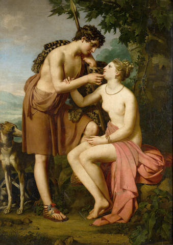 French School, circa 1800 Venus and Adonis