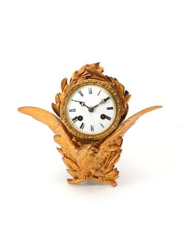 A small eagle cartel clock
