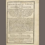 PRYNNE (WILLIAM) A Seasonable, Legal, and Historical Vindication, 1655; and 3 others by Prynne (4)