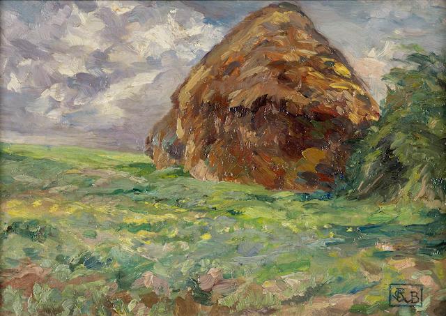 Rupert Bunny (1864-1947) The Haystack