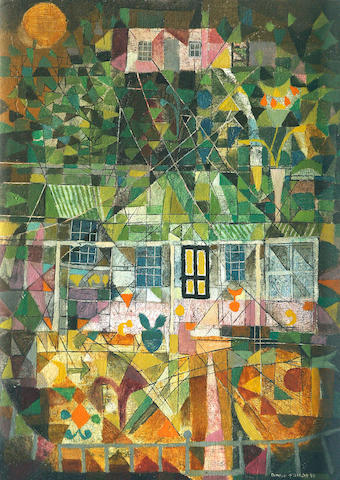 Donald Friend (1915-1989) The Artists Cottage at Hill End 1956