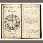 HOWELL (JAMES) Instructions for Forreine Travell, FIRST EDITION, 1642